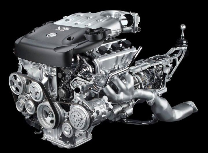 350Z Engine Bay