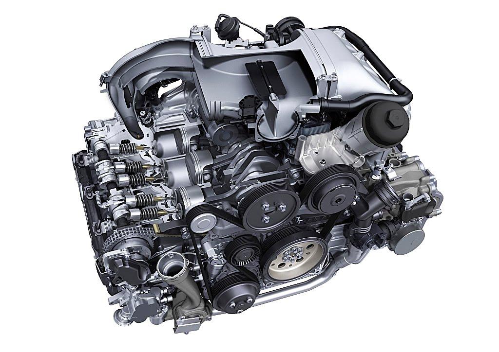 997 Turbo S Engine Bay