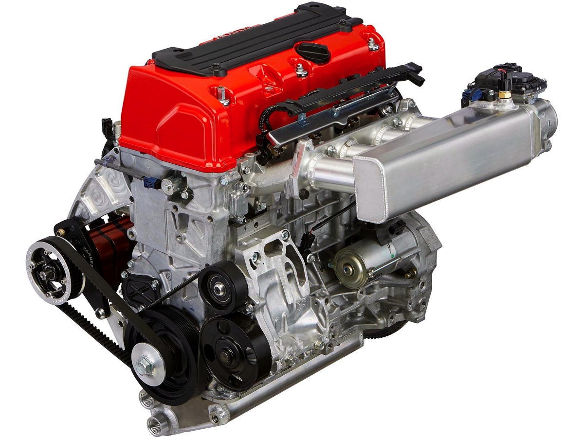 FN2 Engine Bay