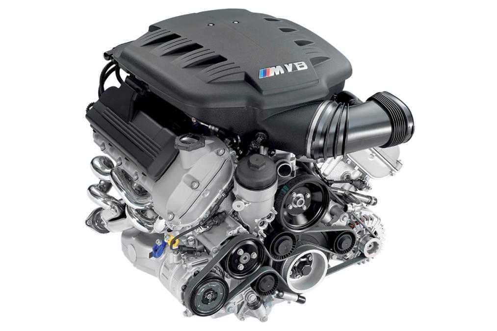 E9X M3 Engine Bay