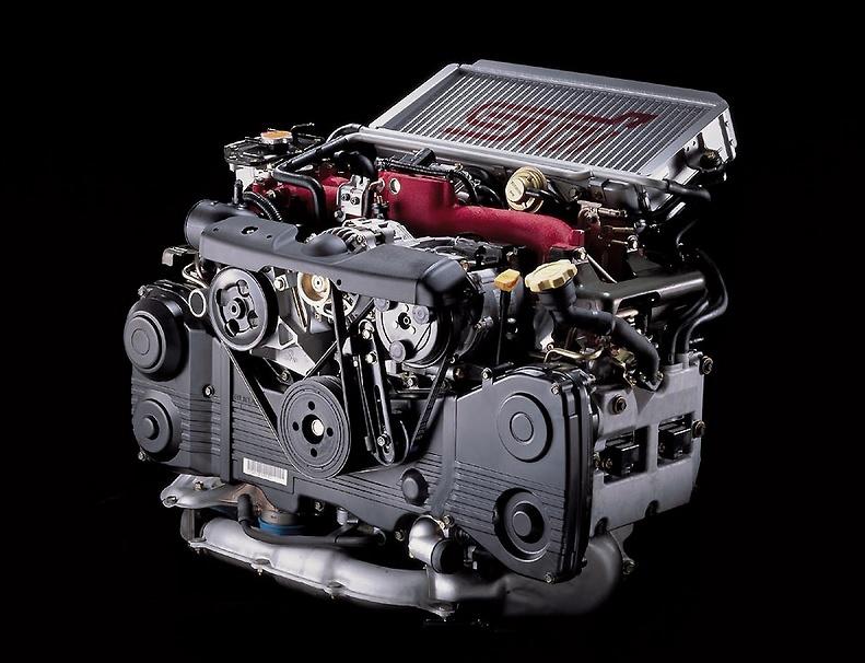 Impreza 00/07 Engine Bay